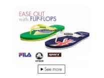 Branded Flip Flops 50% to 70% off from Rs. 148 @ Amazon