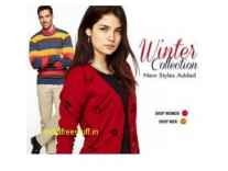 Top Brands Winter Wear Minimum 70% off from Rs.209 @ Amazon