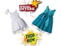 [80% off] Disney Frozen Girls' Dress Rs. 279 @ Amazon