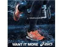 Asics Shoes Minimum 50% off from Rs. 2999 - Amazon