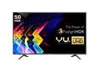 Vu Iconium 127cm (50) Ultra HD (4K) Smart LED TV Rs. 43998 @ Flipkart
