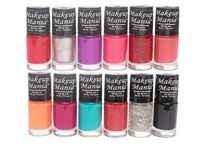 Makeup Mania Nail Polish Set of 12 Pcs Rs. 295 - Amazon