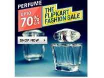 Perfumes & Minimum 40% off + 20% Cashback @ Flipkart