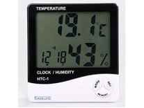 EASELIFE Temperature Humidity Time Display Meter with Alarm Clock Rs.350 - Amazon