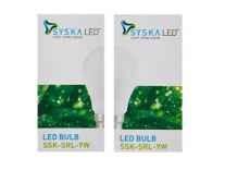 Syska B22 9-Watt LED Bulb (Pack of 2, Cool Day Light) Rs.199 - Amazon