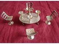 Unique antique Design Dining Table Chair Maharaja Set Rs. 267@ Amazon