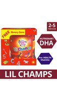 Bournvita Lil Champs 500g Jar with Free Memory game (2 Qty)