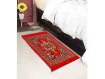 Home Elite Abstract Polyester Bedside Runner Rs. 199 - Amazon