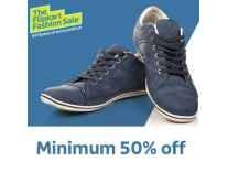 Top Brands Footwear minimum 50% off From Rs. 149 @ Flipkart