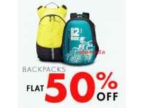 Backpacks Minimum 50% off from Rs. 174 @ Amazon