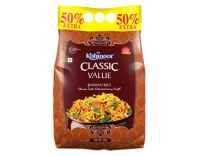 Kohinoor Classic Value Basmati Rice 750g Rs.85, 3KG Rs. 329 - Amazon