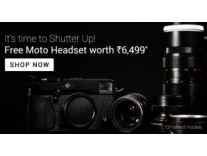Canon DSLR Cameras upto 20% off + Free Moto Pulse headset worth Rs. 6,499