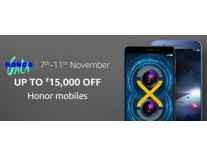 Honor Mobiles upto 52% off - Amazon Honor Gala