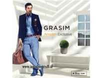 Grasim Men's Clothing 60% to 70% Off from Rs. 418@ Amazon