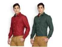 Brooklyn Blues Men's Shirts 60% off from Rs. 259 - Flipkart