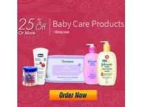 Baby care products Minimum 25% off Rs. 65 @ Amazon