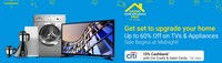 Grand Home Appliances Sale : Upto 60% off on TVs & Appliances + 10% cashback ...