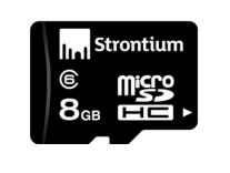 Strontium MicroSDHC Memory Card Class 6 8GB Rs. 299, 16GB Class 10 Rs. 399- Ama...