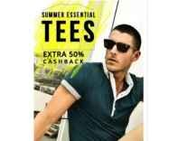 Tshirts & Polos Minimum 50% off to 80% off from Rs. 100 @ Amazon