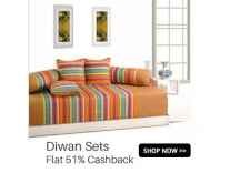 Supreme Home Collective Diwan Sets upto 90% off from Rs. 315- Flipkart