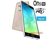 [Live@12PM] Samsung On5 Pro Mobile Rs. 6990 - Amazon