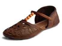 Myra Women's Laser Cut Sandals at Rs. 305