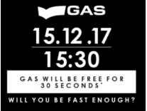 Gas Fashion Products Free for 30 Second on Jabong 15th Dec 3.30PM