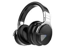 Cowin E-7 Active Noise Cancelling Wireless Bluetooth Over-ear Stereo Headphones with Microphone and Volume Control - Black Rs. 3999 Amazon