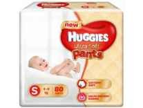 Huggies Ultra Soft Small Size Premium Diapers S 80 Pieces Rs. 899 - Flipkart