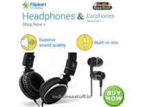 Flipkart Smartbuy Headphones from Rs.299 @ Flipkart