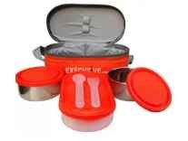 Milton Executive 3 Containers Lunch Box (400 ml) Rs. 299 - Flipkart