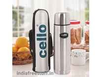 Cello Lifestyle Flask 500 ml Flask Rs. 399, 1000 mlRs. 599 - Flipkart