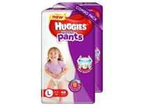Huggies Wonder Pants Large Size Diapers 48 Counts Pack of 2 Rs. 951 @ Amazon