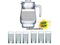Luminarc Aldwin Amsterdam Tivoli Drink Set of 7-Pieces Rs. 599- Amazon