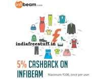 Infibeam 5% Cashback upto Rs. 100 with Freecharge wallet