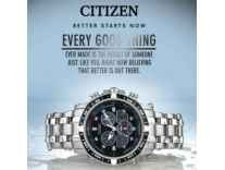 Citizen Watches 43% off from Rs. 3906 - Flipkart