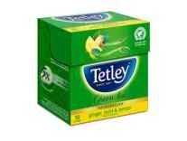 [Pantry] Tetley Green Tea, Ginger Mint Lemon, 10 Tea Bags Rs. 36