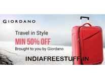Giordano Bags Minimum 55% off from Rs. 1106 - Flipkart