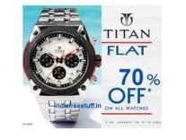 Titan Watches Minimum 50% off from Rs. 1997 @ Flipkart