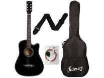 Juarez JRZ38C/ASH 6 Strings Acoustic Guitar 38 Inch Rs.1890 @Amazon