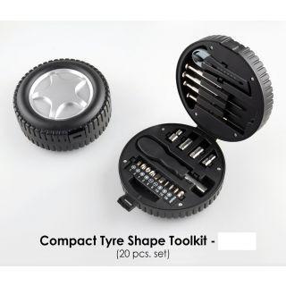 Autofurnish 20 PCs Tyre Shape Multipurpose Toolkit Rs. 359 - Amazon
