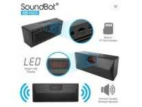 SoundBot SB1023 Bluetooth FM Radio Alarm Clock Bluetooth Mobile/Tablet Speaker Rs. 1899 - Flipkart