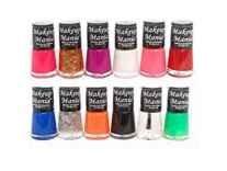 Makeup Mania Exclusive Nail Polish Set of 12 Pcs Rs. 292 - Amazon