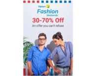 Clothing & Footwear Min 50% off + upto 20% off + upto 15% off