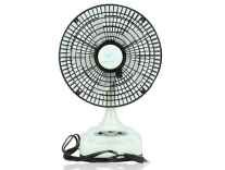 "Akari Ak-8008 8"" Rechargeable AC/DC Table Fan with LED Light, Solar Charging Rs. 1699 @ Amazon"