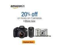 Cameras, Lenses & Accessories upto 45% off @ Amazon