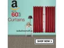Curtains Minimum 50% to 80% off Sale from Rs. 156 @Amazon