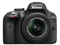 Nikon D3300 DSLR Camera Body with 18-55mm and 70-300mm VR Lens + 16gb Card + Bag Rs. 32999 - Amazon