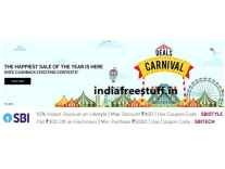 TataCliq Sale 10% off on Life style , Rs. 300 off on Electronics with SBI Debit & Credit Cards