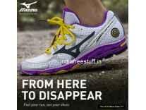 Mizuno Shoes 60% to 75% off + 15% Cashback Cashback - Jabong
